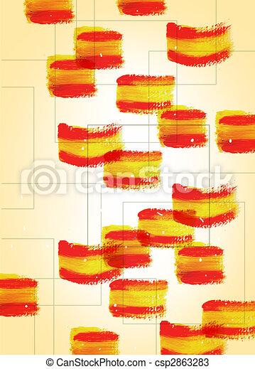 Pintura de colores - csp2863283