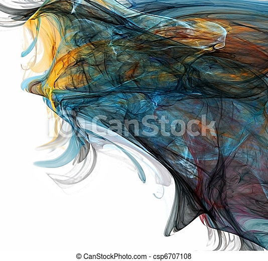 pintura, artista - csp6707108
