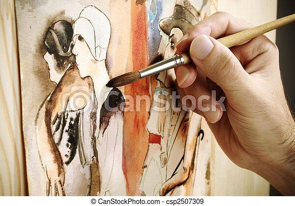 Pintura - csp2507309