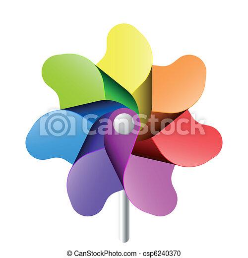 pinwheel, jouet - csp6240370