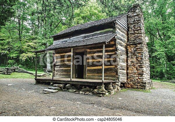 Pioniere cabina montagna grande tennessee mostra for Cabina di montagna grande orso