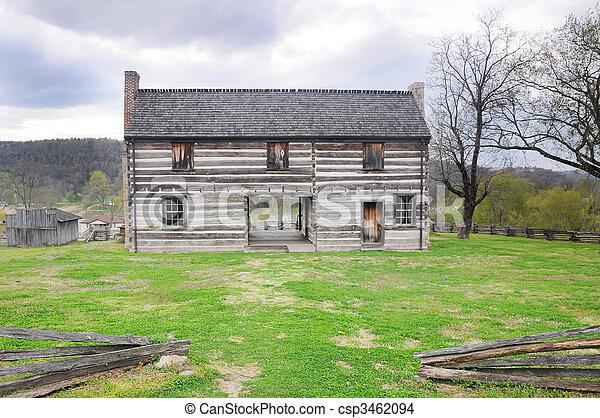 Pioniere casa pioniere storico 1820 casa foto d for Piani casa artigiano canada