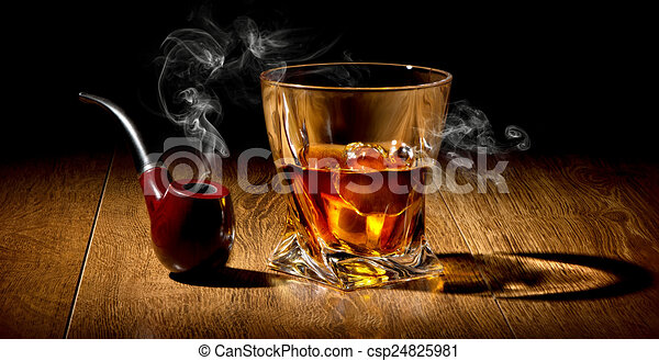 Pipe and whiskey