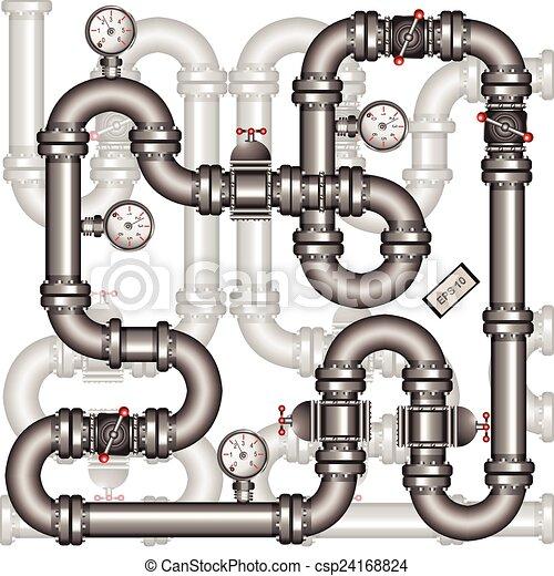 pipeline background - csp24168824