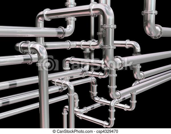 Pipeline maze - csp4329470