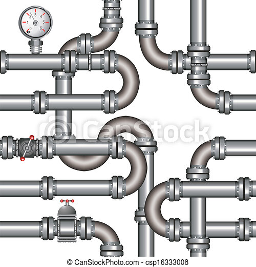 vector illustration of pipeline seamless pattern rh canstockphoto com pipeline clipart free oil pipeline clipart