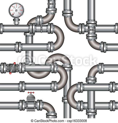 vector illustration of pipeline seamless pattern vector clipart rh canstockphoto com pipeline clip art free pipeline clipart free