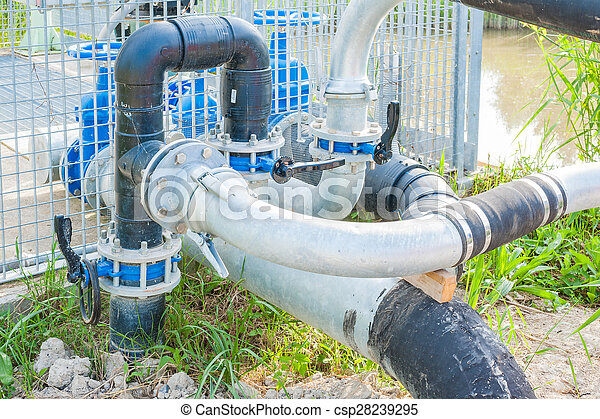 Pipes irrigation system - csp28239295