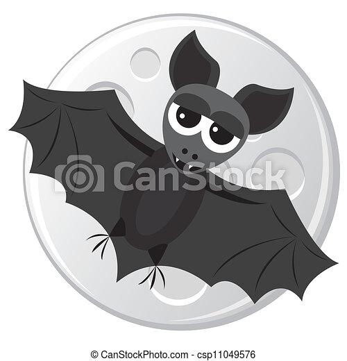 Animato pipistrello cartoni personaggio dei cartoni animati di