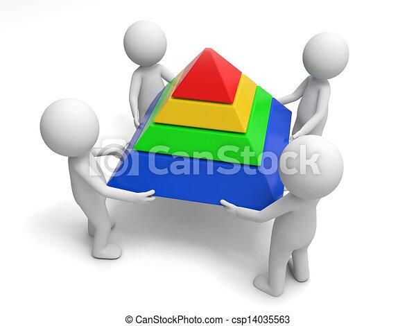 Pirámide - csp14035563
