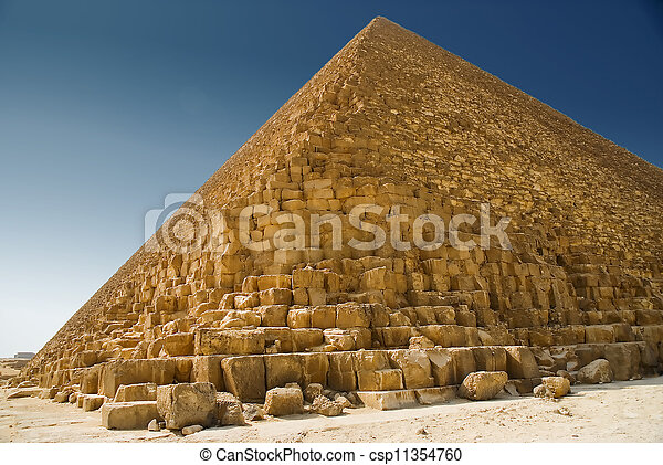 piramide, giza - csp11354760