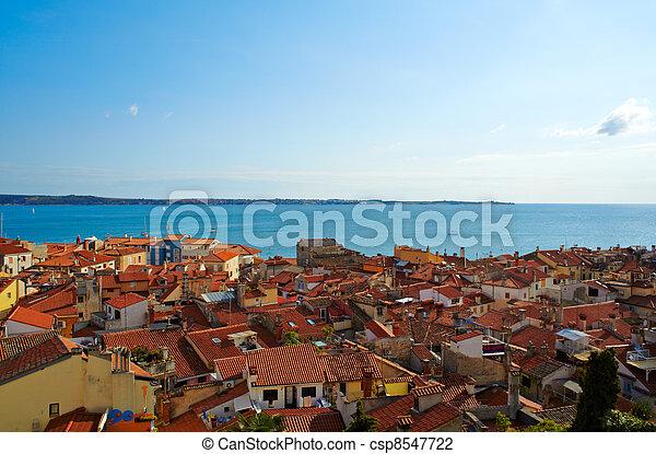 Piran roof - csp8547722
