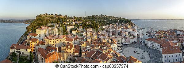 Piran, Slovenia - csp60357374