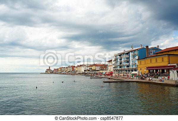 Piran, Slovenia - csp8547877