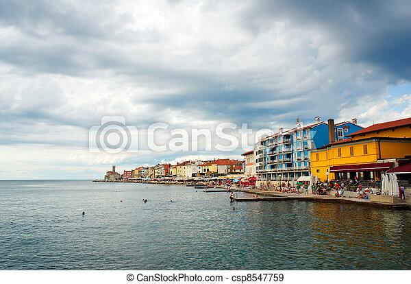 Piran, Slovenia - csp8547759