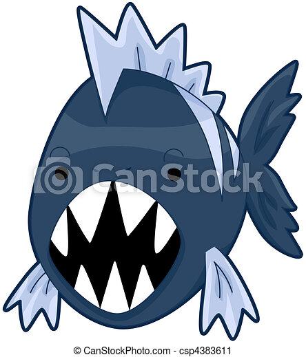 piranha - csp4383611
