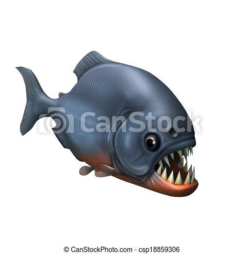 piranha - csp18859306