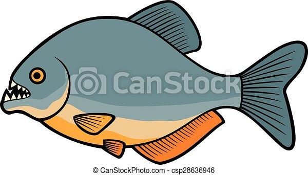 piranha fish eps vector search clip art illustration drawings rh canstockphoto com piranha fish clipart