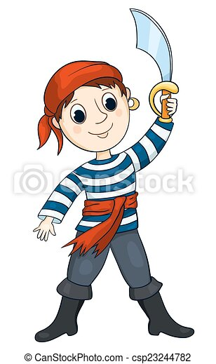 Pirat boy - csp23244782