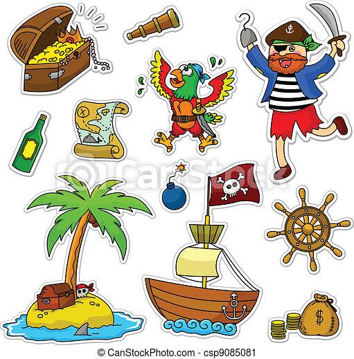 Colección de piratas - csp9085081