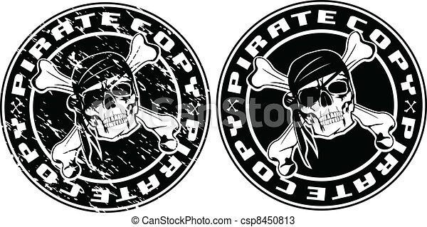 pirate copy stamp - csp8450813
