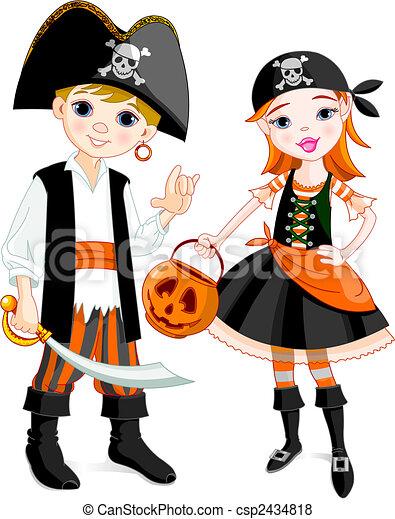 Pirate couple - csp2434818