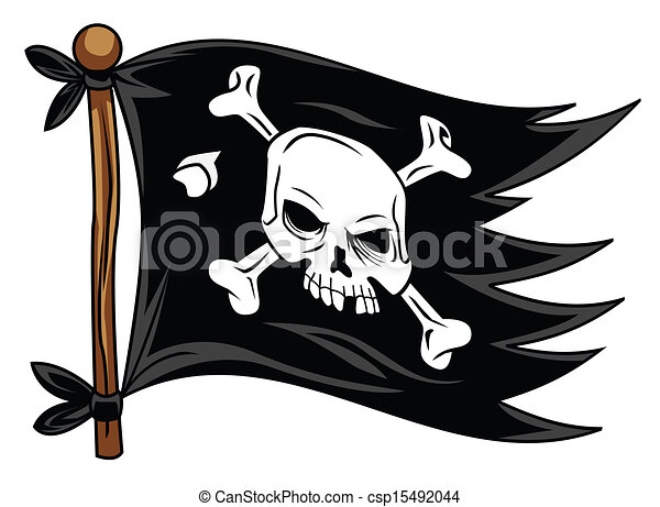 pirate flag eps vector search clip art illustration drawings and rh canstockphoto com pirate ship flag clipart Pirate Treasure Clip Art