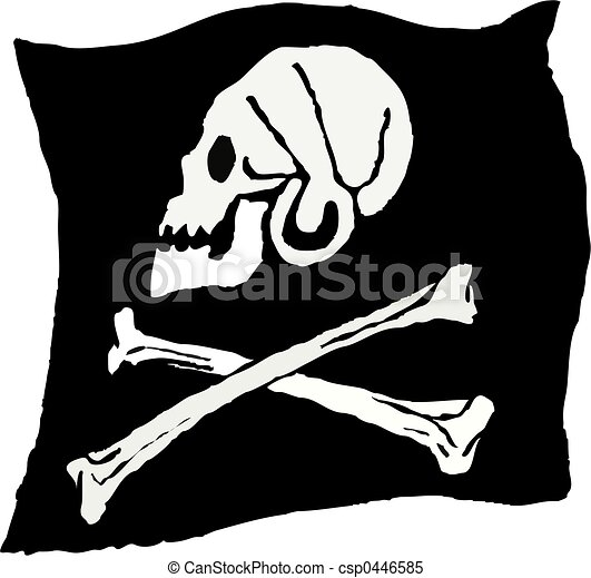 pirate flag - csp0446585