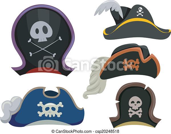 Pirate Hats - csp20248518
