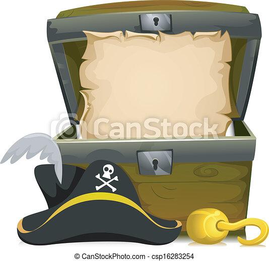 Closed Treasure Chest Clipart