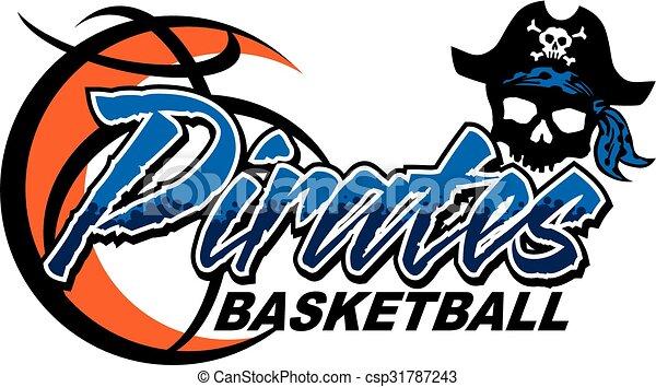 pirates basketball - csp31787243
