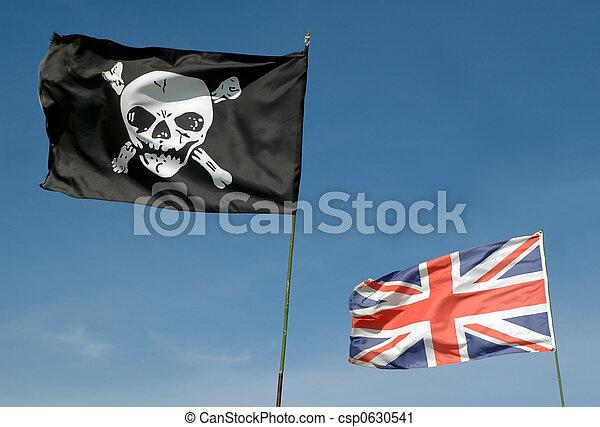 pirates, britannique - csp0630541