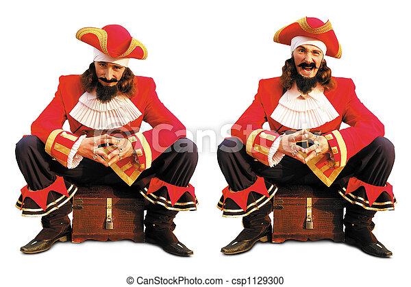 pirate\\\'s chest - csp1129300