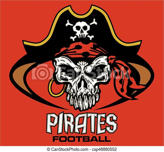 pirates football - csp48880552