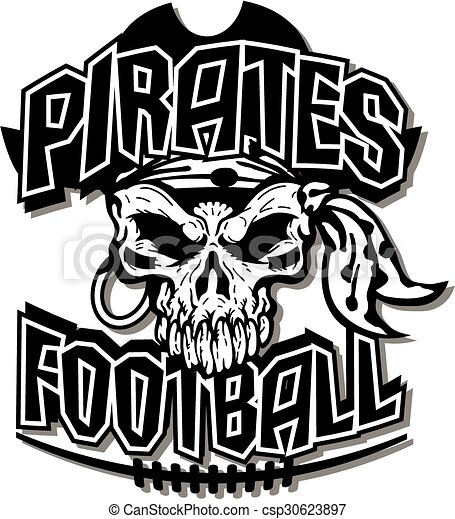 pirates football - csp30623897