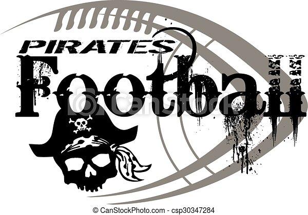 pirates football - csp30347284