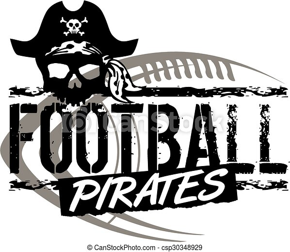 pirates football - csp30348929