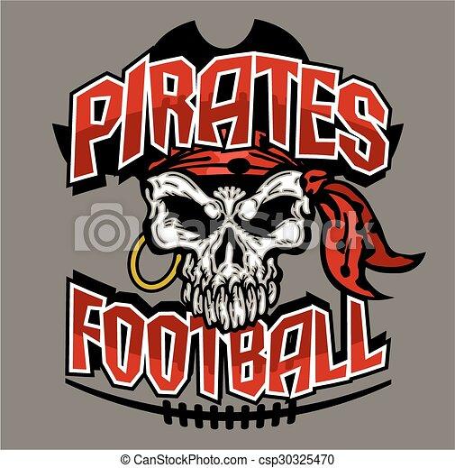 pirates football - csp30325470