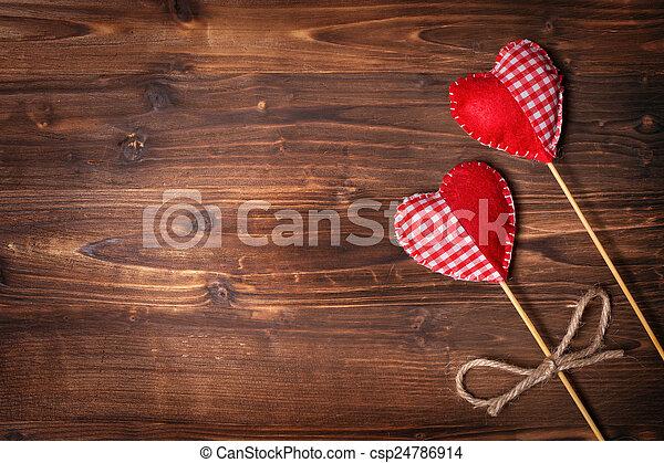 piros, valentines nap - csp24786914