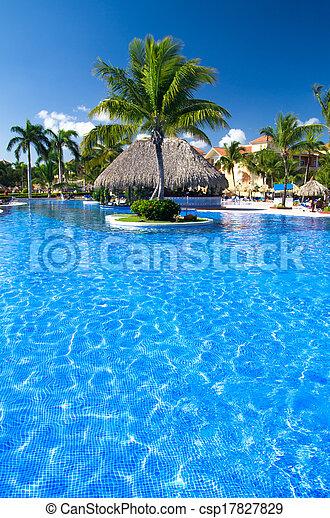 piscina, natação - csp17827829