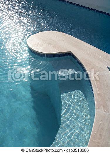 piscina, natação - csp0518286