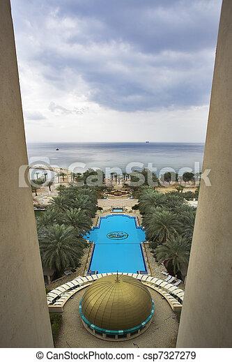 piscina, natação - csp7327279
