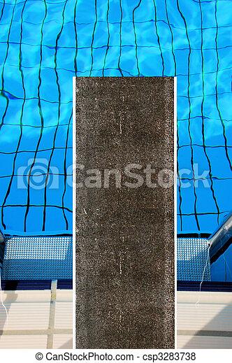 piscina, natação - csp3283738