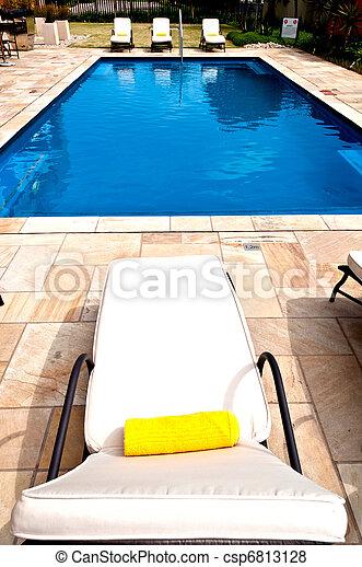 piscina, natação - csp6813128