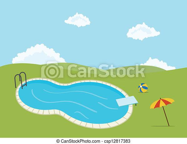 piscina - csp12817383
