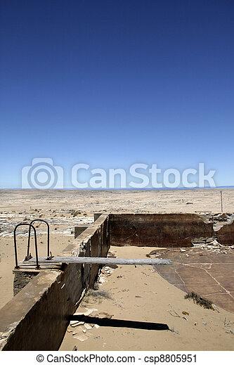 piscina, natación - csp8805951