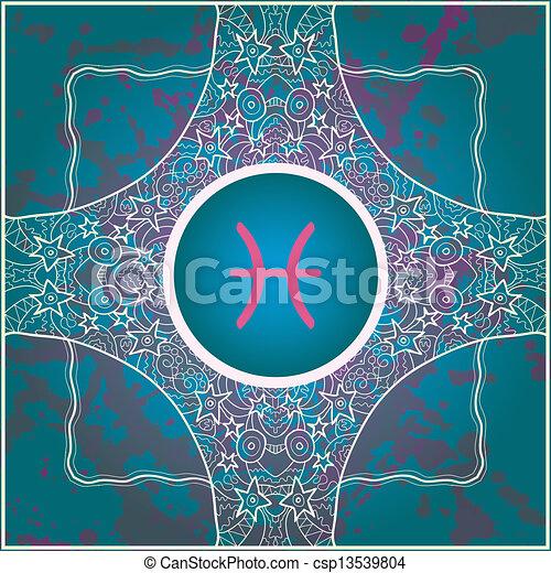 Pisos de señal Zodiaco - csp13539804