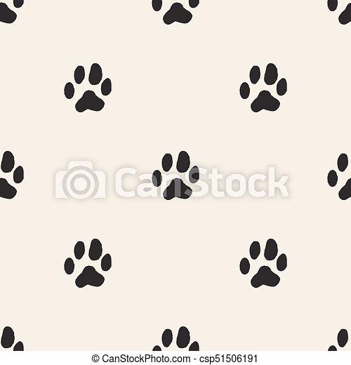 Trasfondo animal de monocromo sin costura - csp51506191