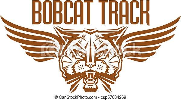 Pista de Bobcat - csp57684269