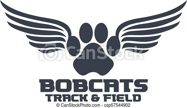 Los Bobcats rastrean - csp57544902